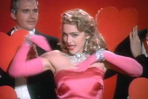 Madonnamaterialgirlvalentineheart